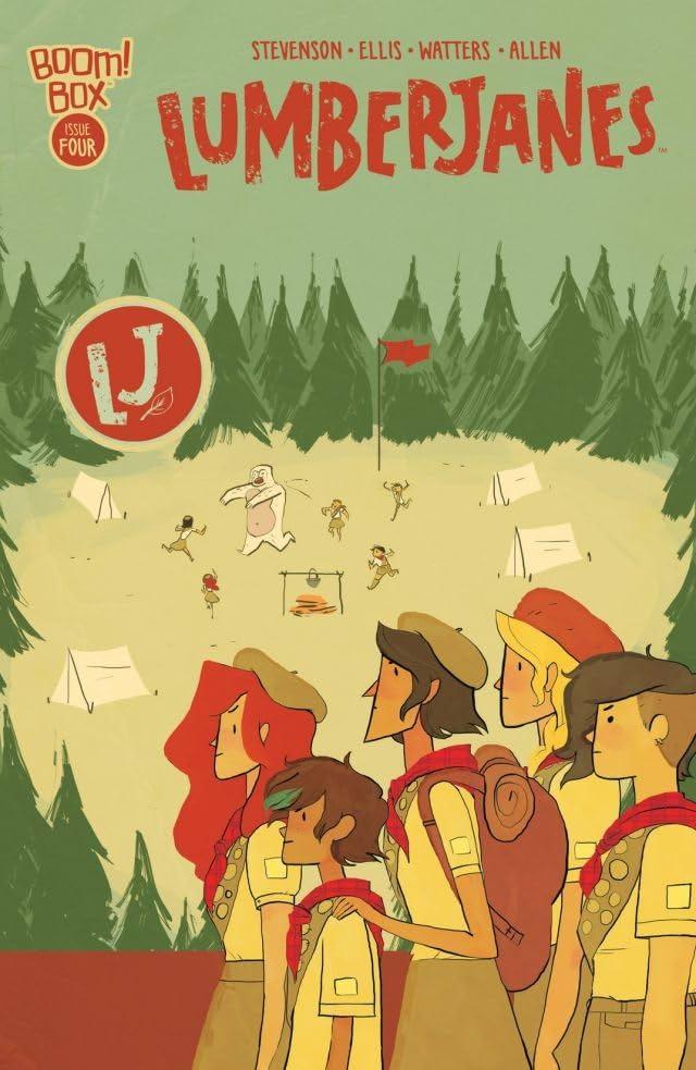 Lumberjanes #4 (of 8)