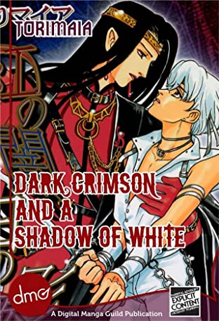 Dark Crimson and a Shadow of White