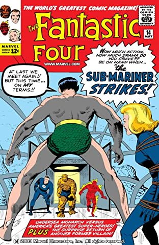 Fantastic Four (1961-1998) No.14