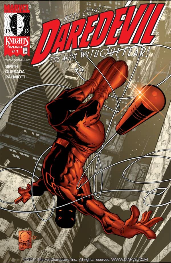 Daredevil (1998-2011) No.1
