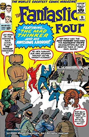 Fantastic Four (1961-1998) No.15