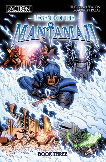 Legend of the Mantamaji: Book Three