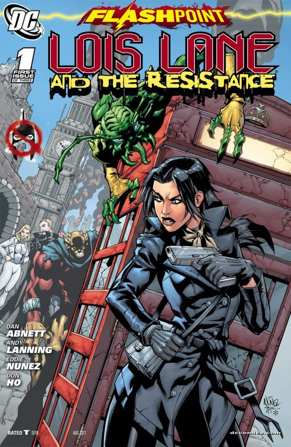 Flashpoint: Lois Lane and the Resistance #1 (of 3)