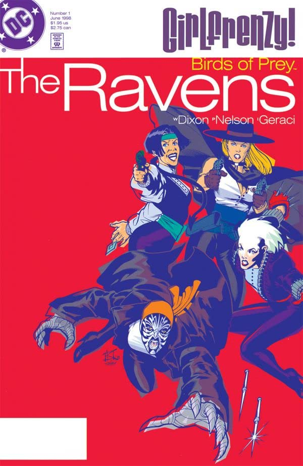 Birds of Prey: The Ravens #1