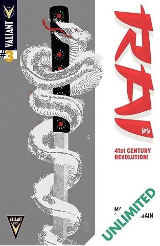 Rai (2014- ) #3: Digital Exclusives Edition