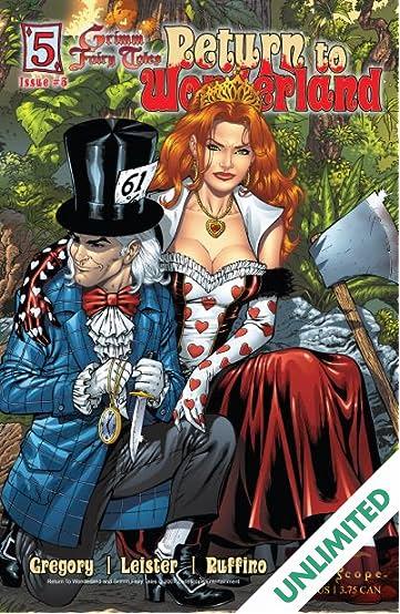 Return To Wonderland #5 (of 6)