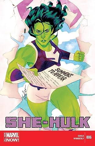 She-Hulk (2014-2015) #6