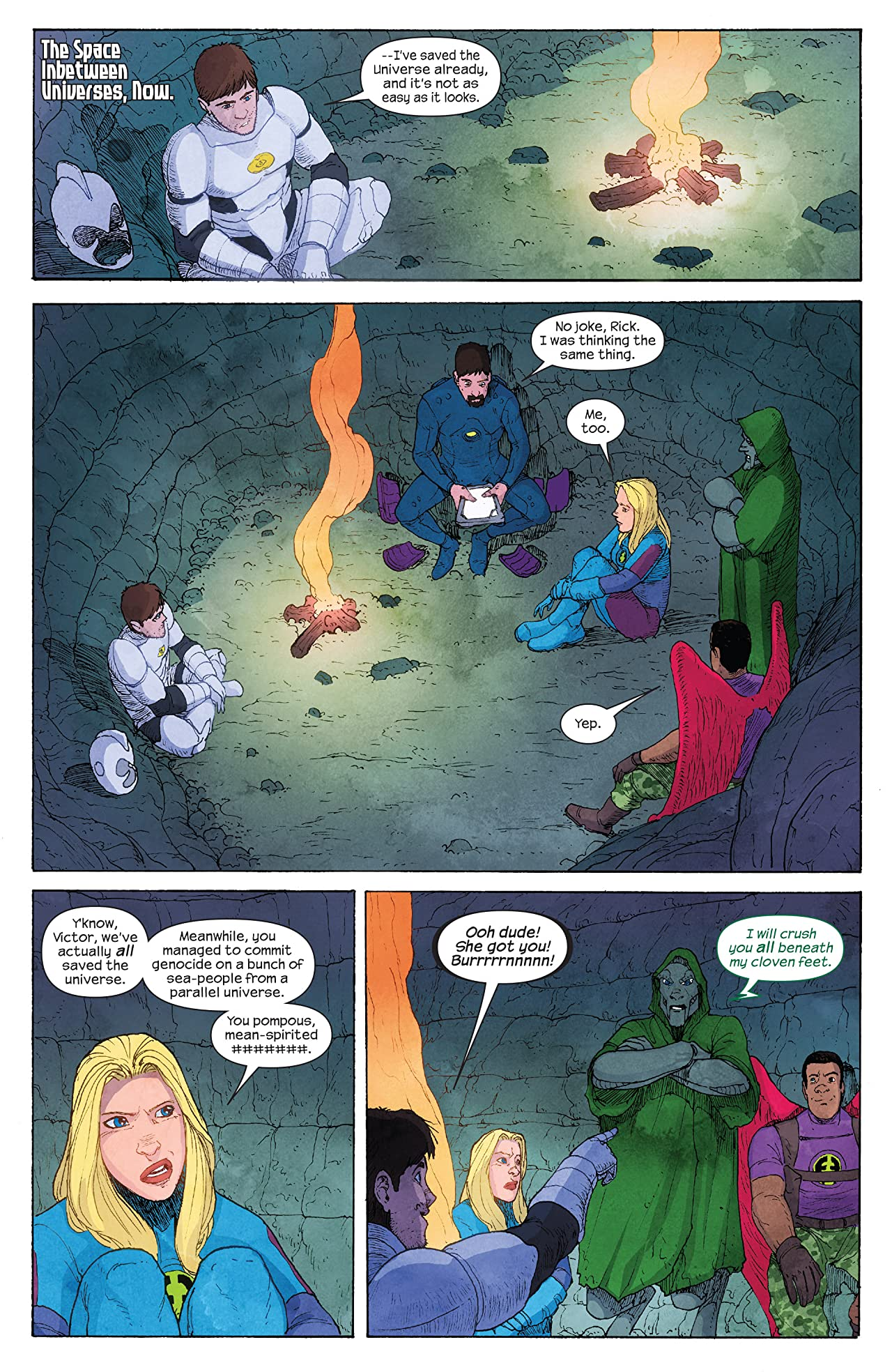 Ultimate FF (2014) #4