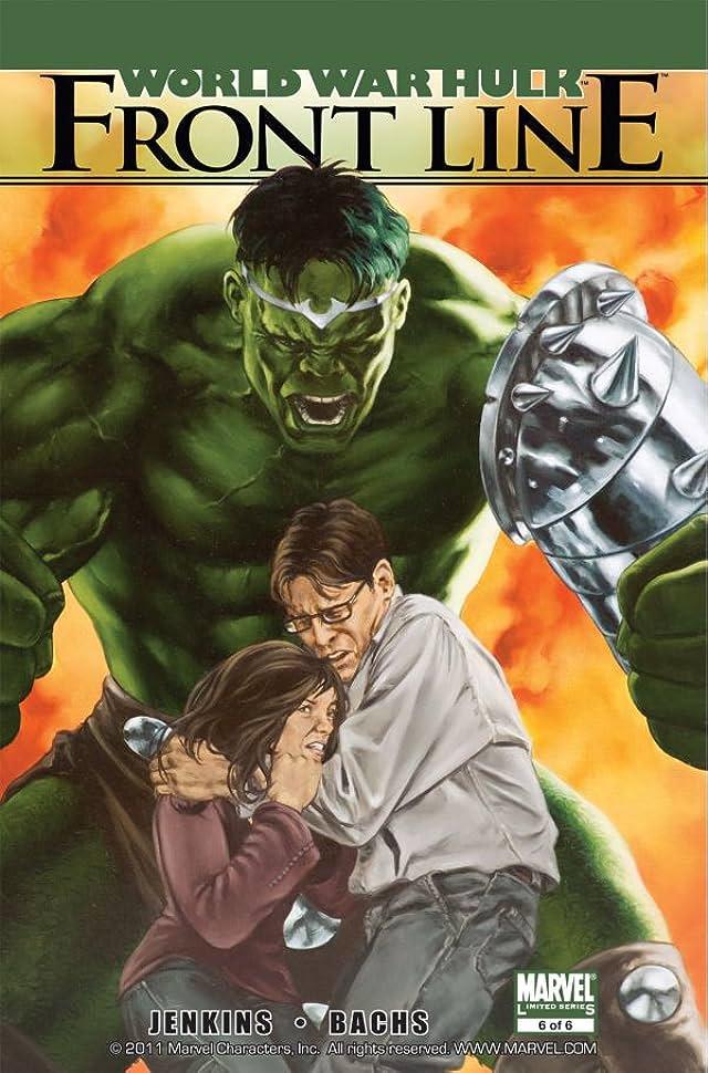 World War Hulk: Front Line #6
