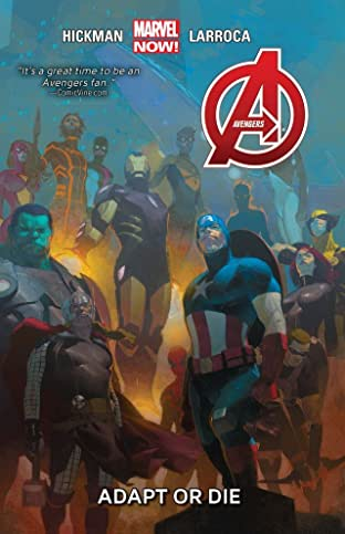 Avengers Tome 5: Adapt Or Die