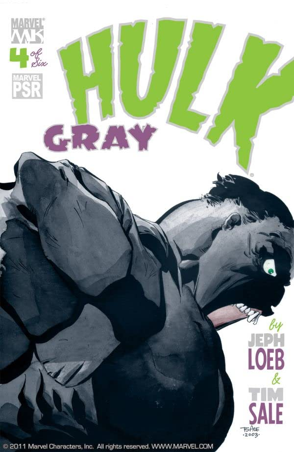 Hulk: Gray #4