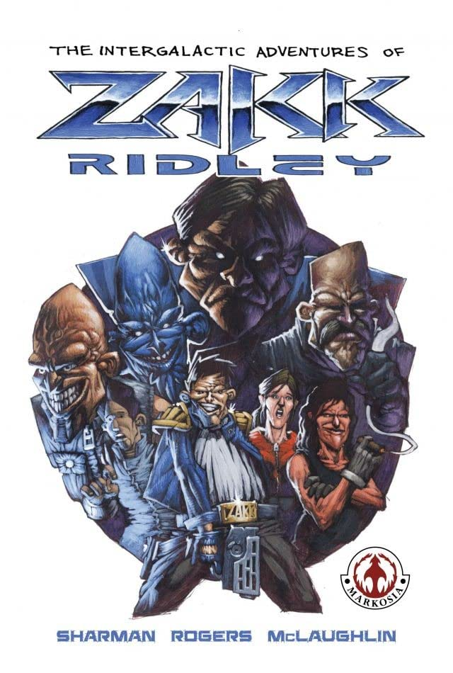 The Intergalactic Adventures of Zakk Ridley