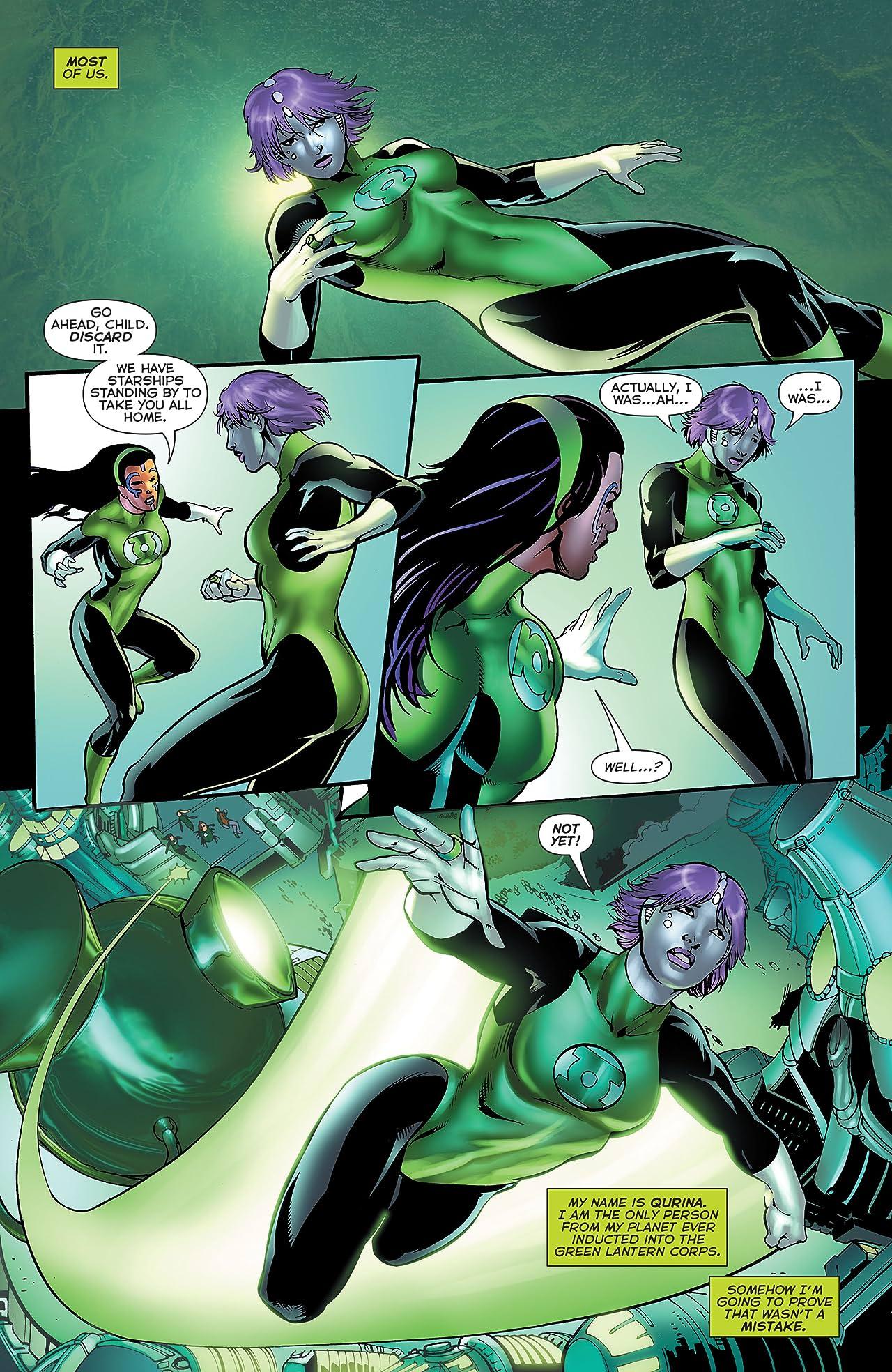 Green Lantern Corps (2006-2011) #61