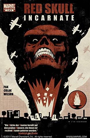Red Skull No.1 (sur 5)