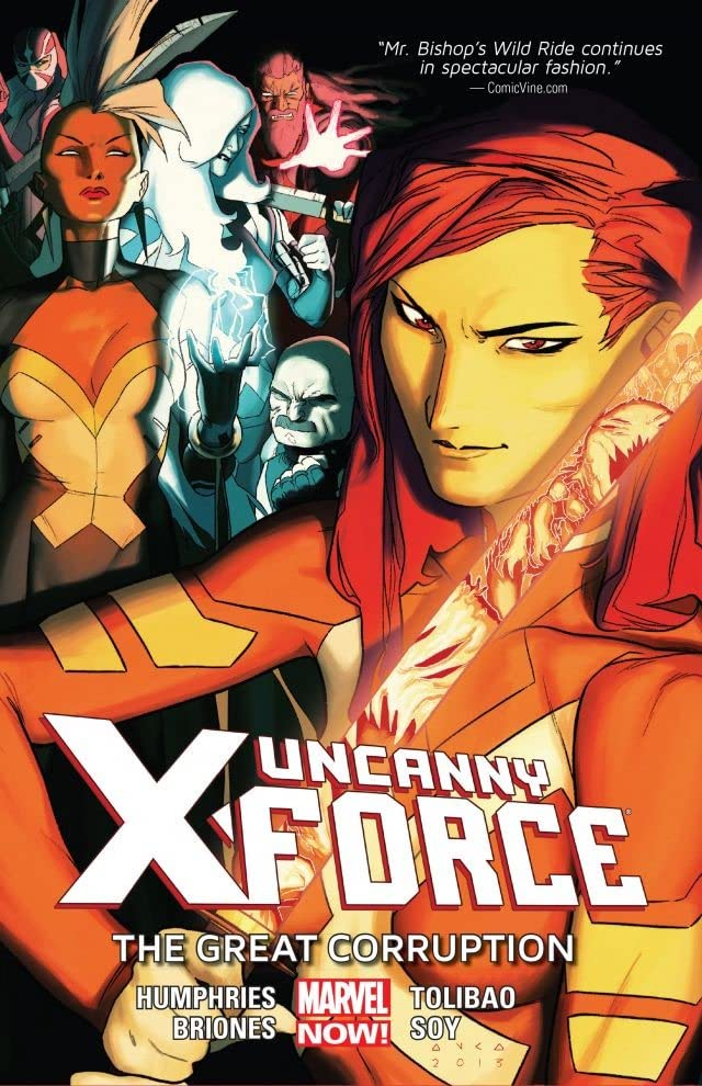 Uncanny X-Force Vol. 3: The Great Corruption