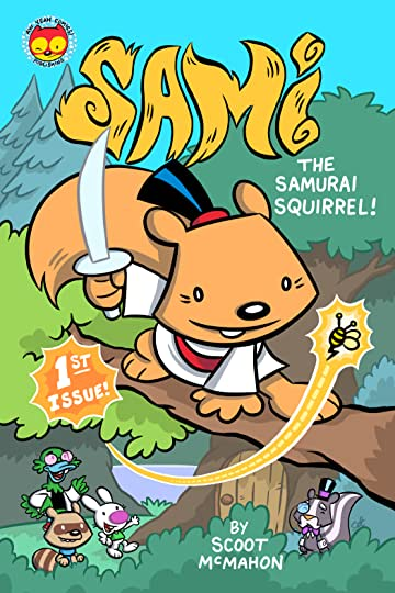 Sami the Samurai Squirrel #1