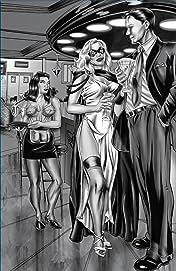 Domino Lady Noir