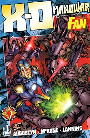X-O Manowar (1996-1998) #1: Fan Edition