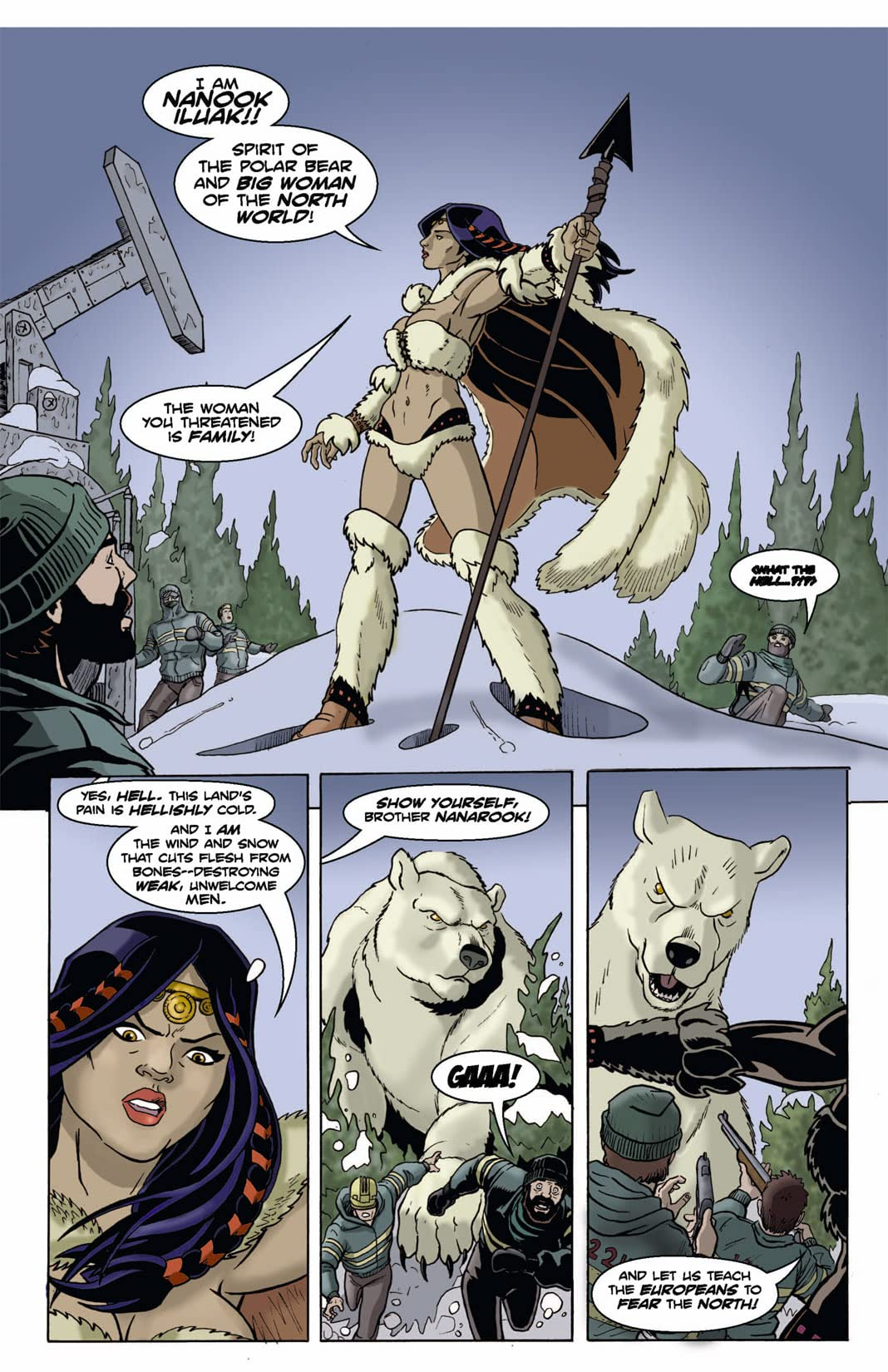 The Northern Guard #1