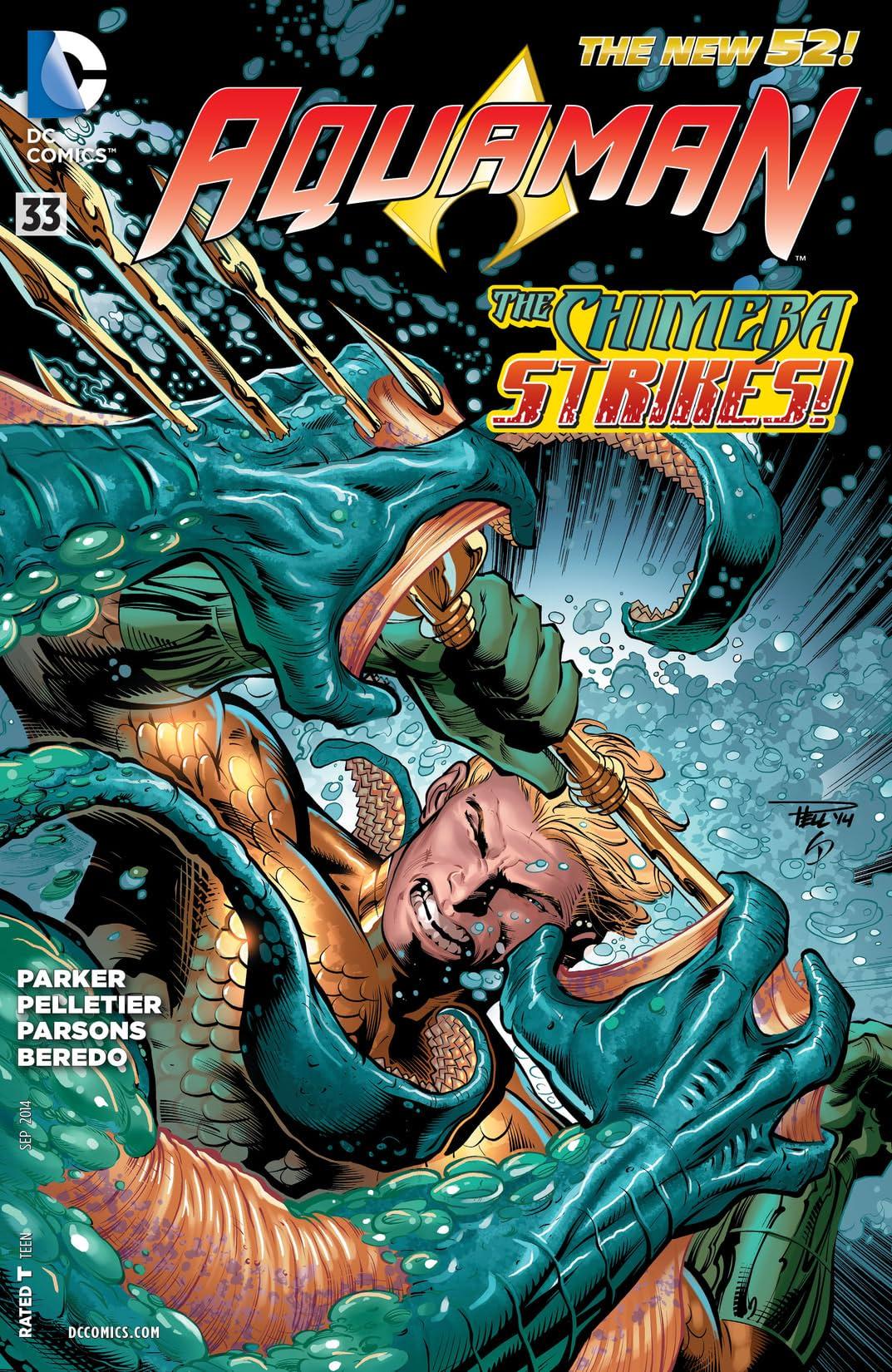 Aquaman (2011-2016) #33