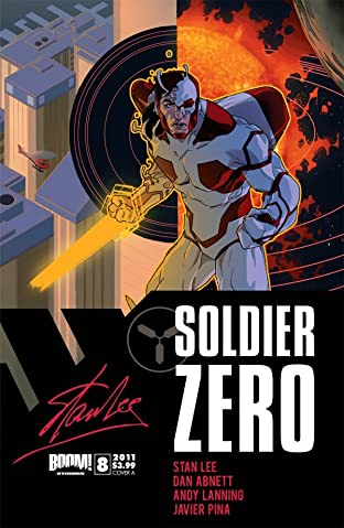Stan Lee's Soldier Zero #8