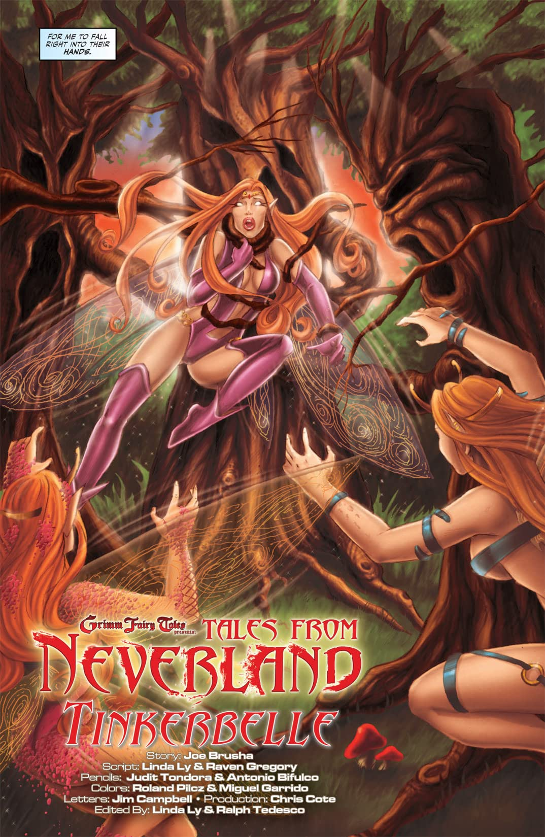 Tales From Neverland #1 (of 3)
