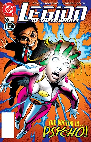 Legion of Super-Heroes (1989-2000) #90