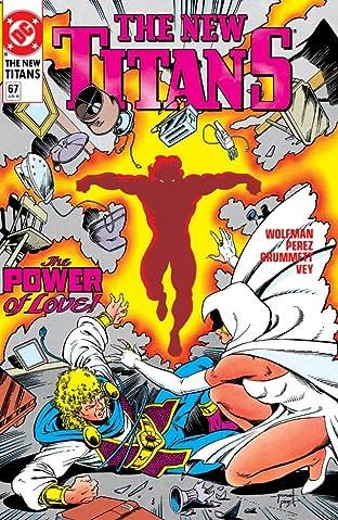 The New Titans (1984-1996) #67