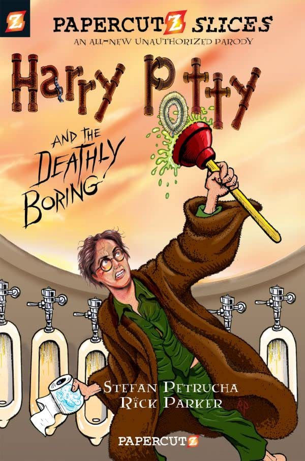 Papercutz Slices: Harry Potty and the Deathly Boring Vol. 1