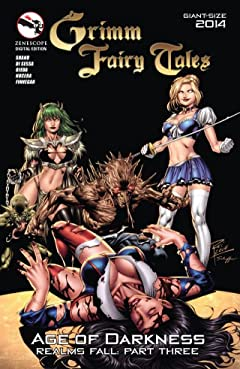 """Grimm Fairy Tales: Giant Sized """"Age of Darkness"""" Special"""