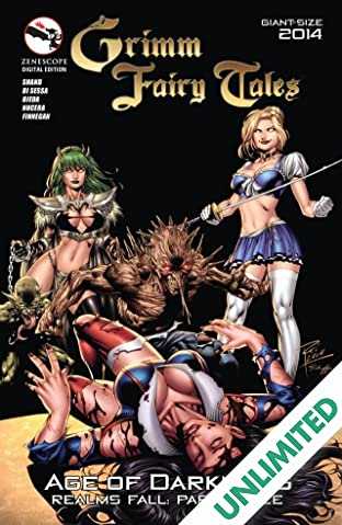 "Grimm Fairy Tales: Giant Sized ""Age of Darkness"" Special"