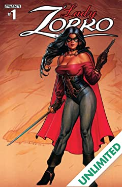 Lady Zorro #1 (of 4): Digital Exclusive Edition