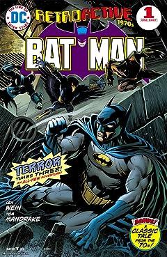 DC Retroactive: Batman - The 70s No.1