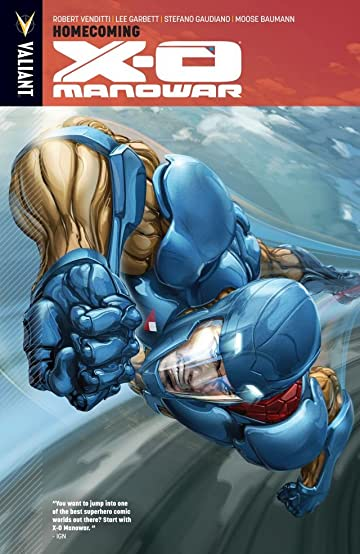 X-O Manowar Vol. 4: Homecoming