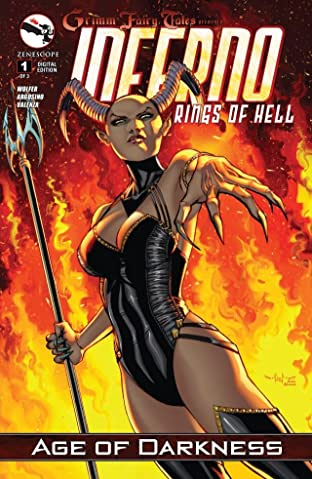 Grimm Fairy Tales: Inferno Rings of Hell #1 (of 3)