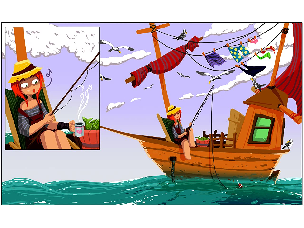 Mishka & The Sea Devil #1