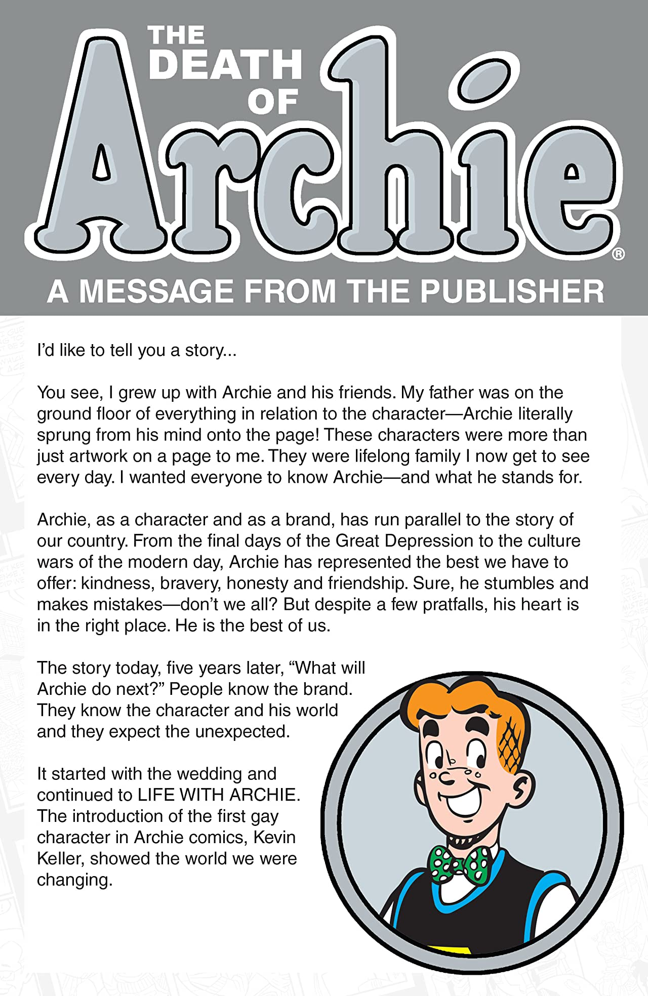 The Death of Archie
