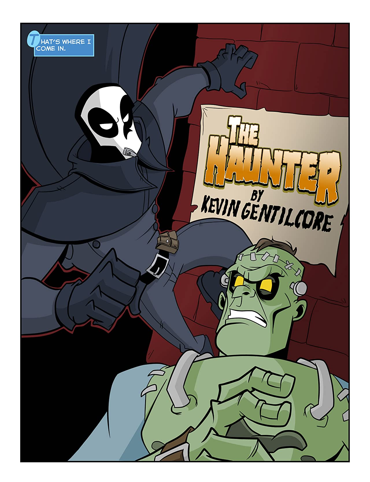 The Haunter #1