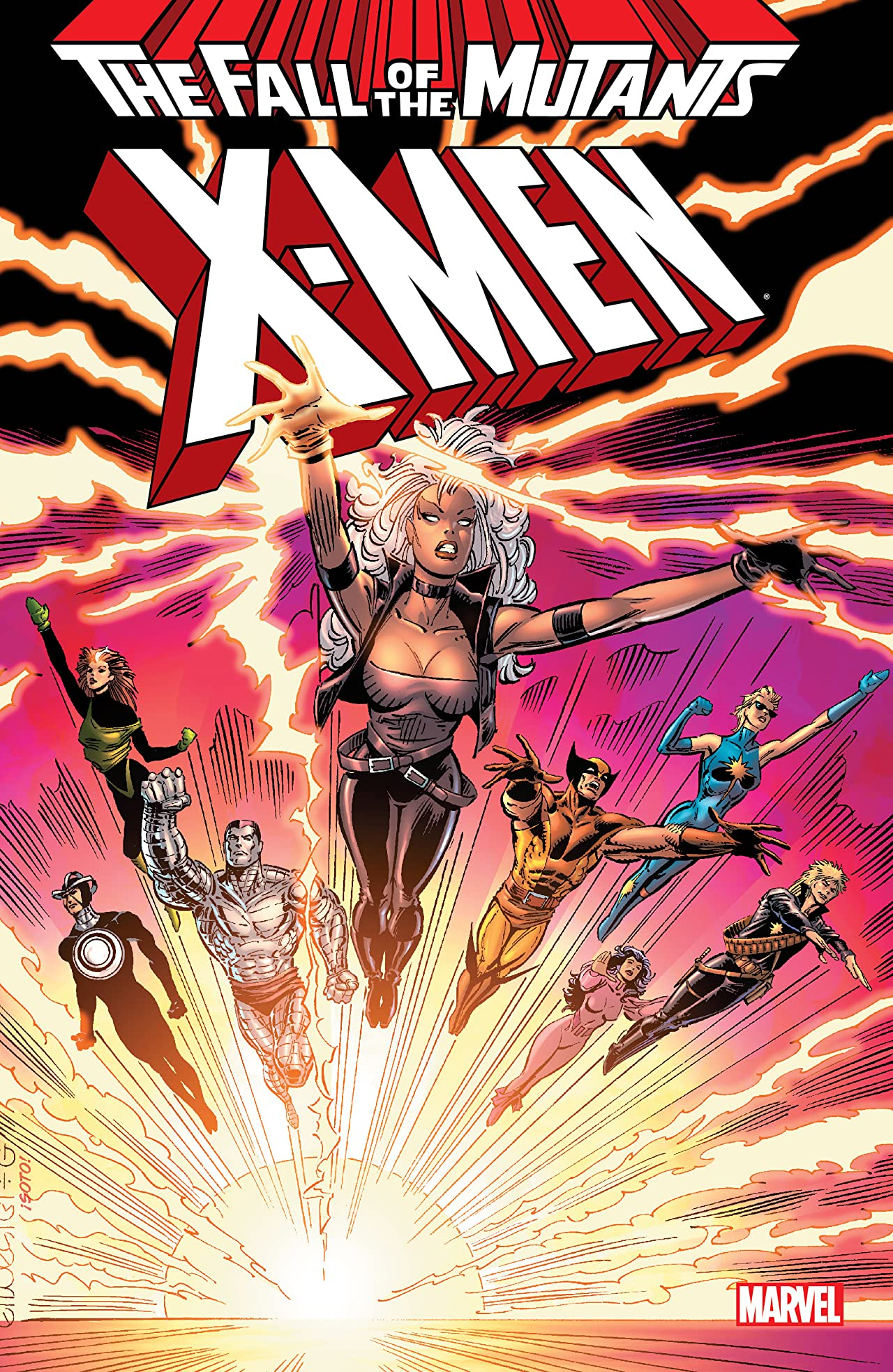 X-Men: Fall of the Mutants Tome 1
