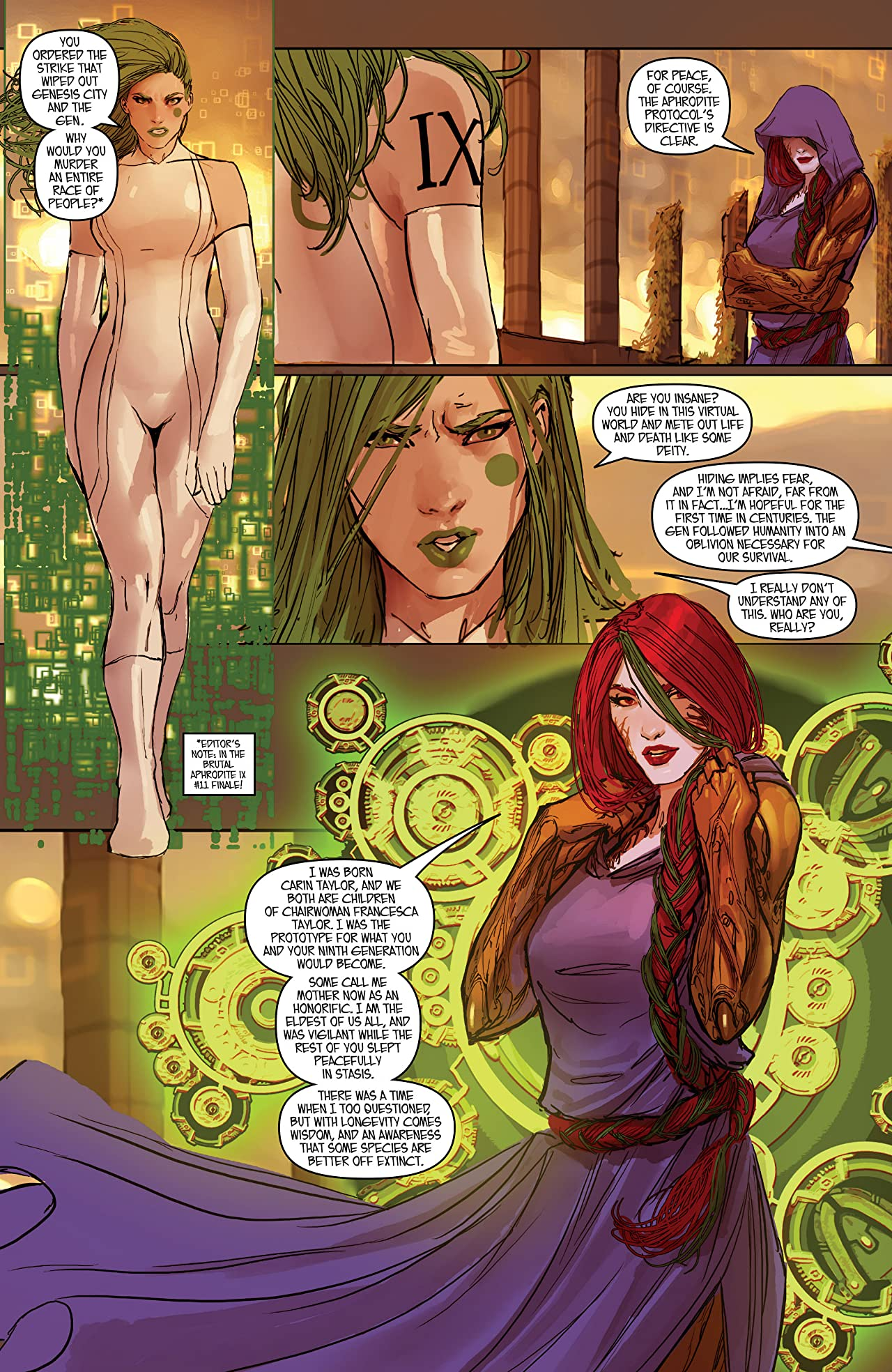 Aphrodite IX/Cyber Force #1