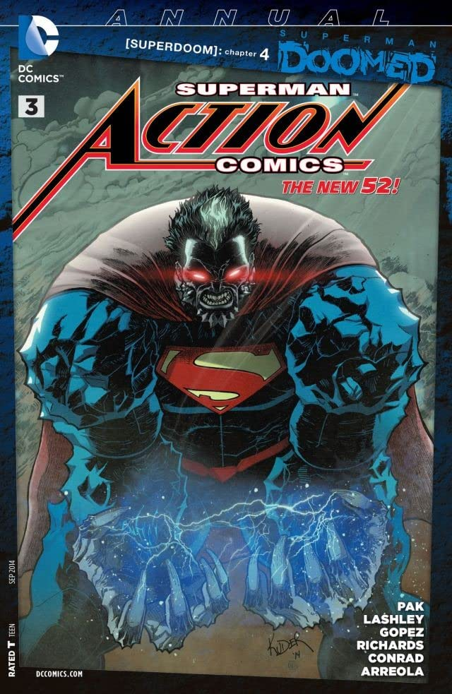 Action Comics (2011-2016): Annual #3