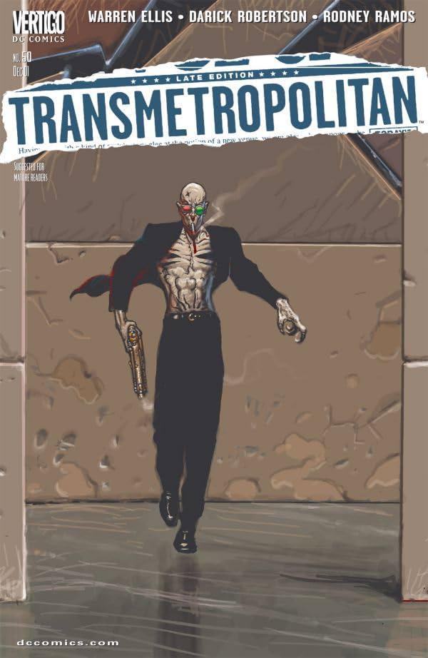 Transmetropolitan #50