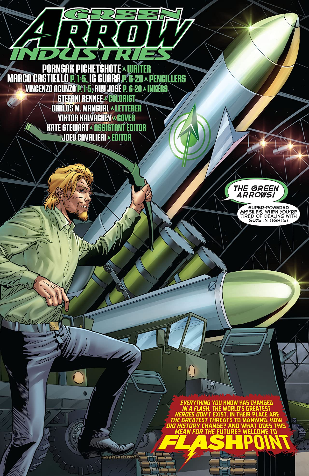 Flashpoint: Green Arrow Industries