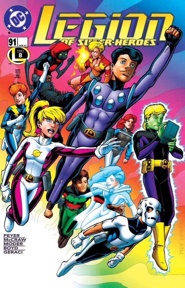Legion of Super-Heroes (1989-2000) #91