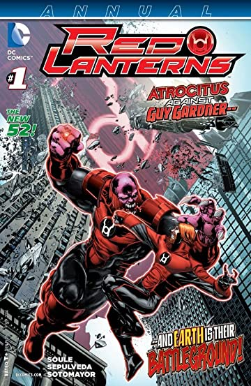 Red Lanterns (2011-2015) #1: Annual
