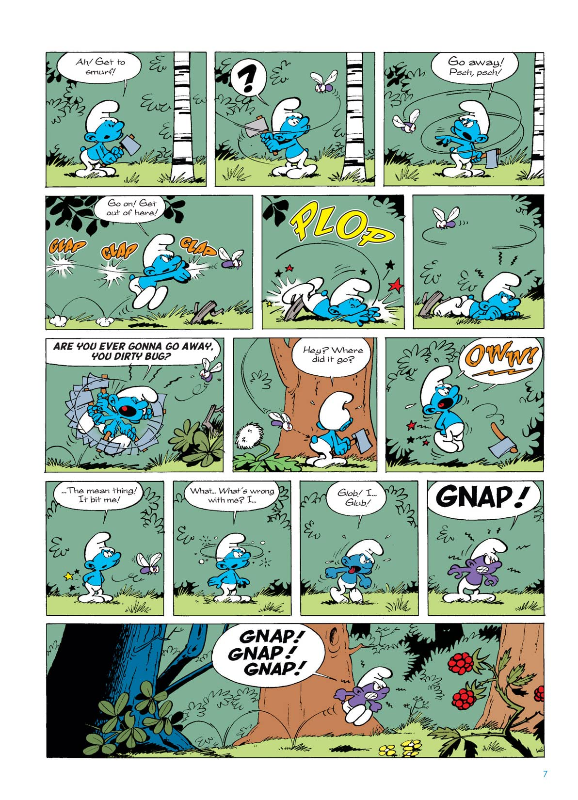 The Smurfs Vol. 1: The Purple Smurf Preview