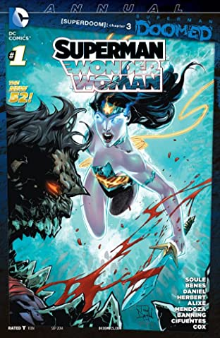 Superman/Wonder Woman (2013-): Annual #1