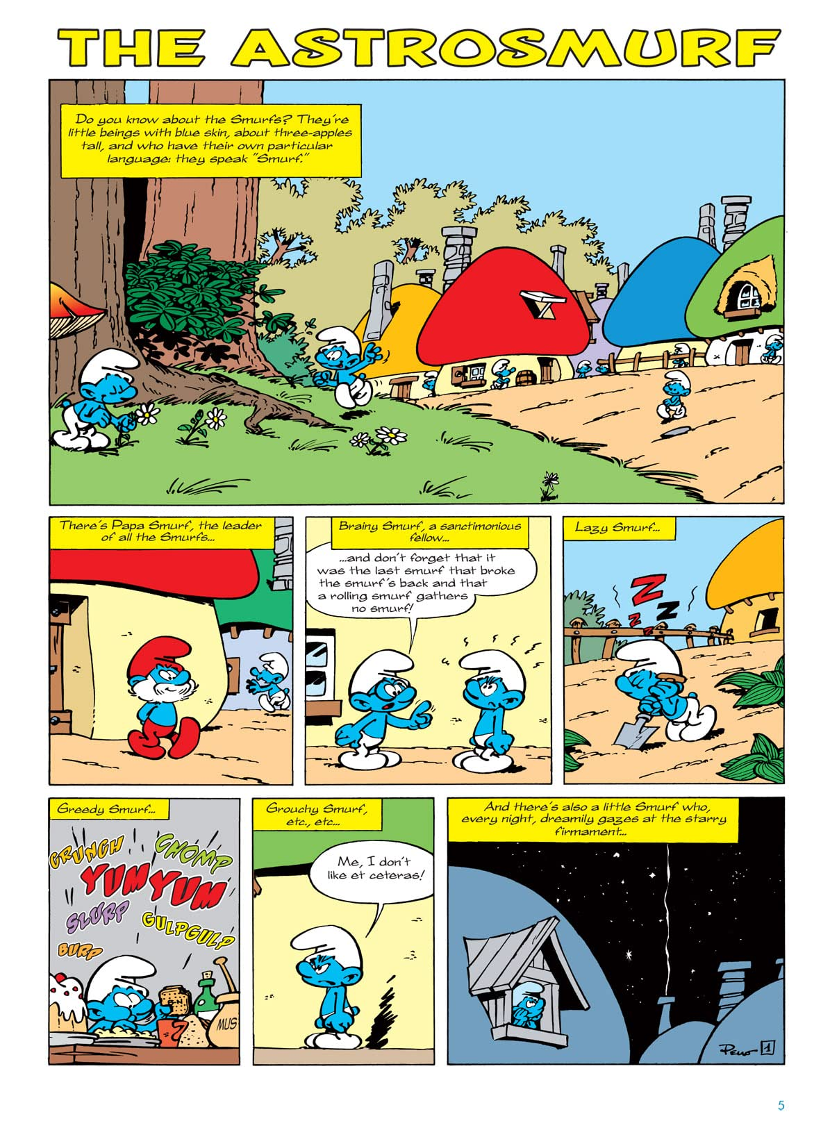 The Smurfs Vol. 7: The Astro Smurf Preview