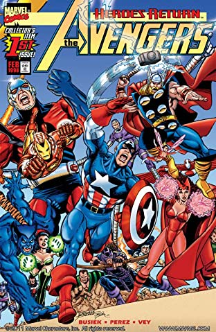 Avengers (1998-2004) No.1