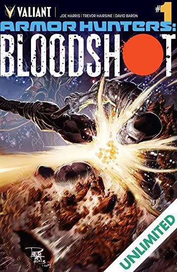 Armor Hunters: Bloodshot (2014) #1 (of 3): Digital Exclusives Edition